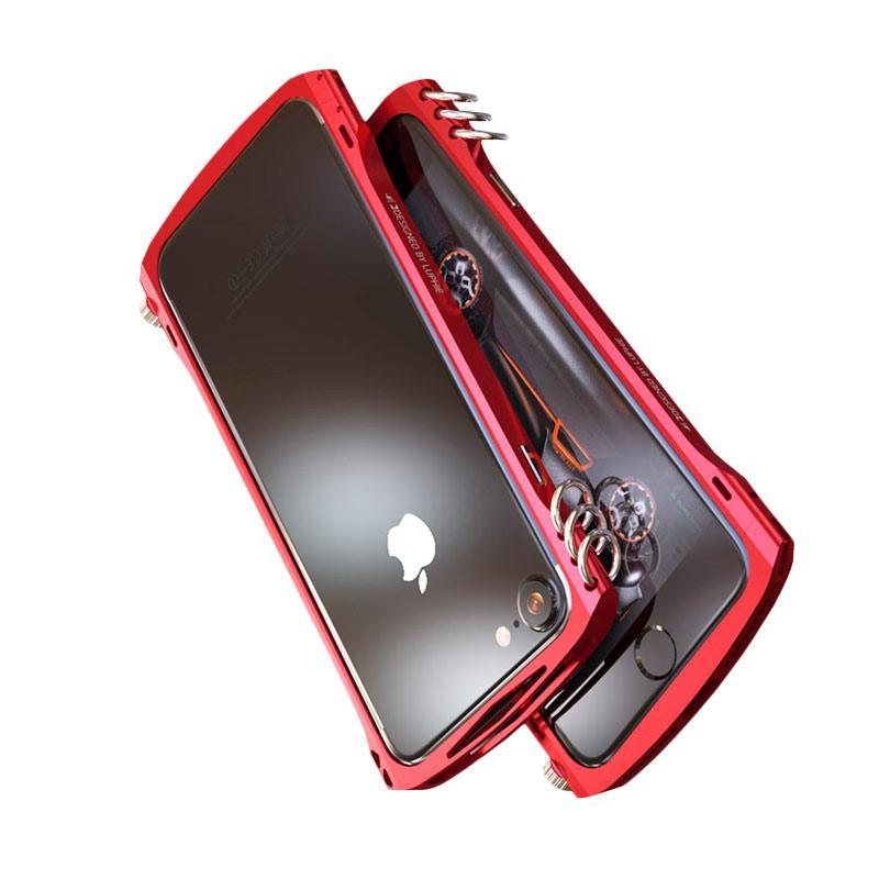 Jual Luphie Original Alien X1 Rotary Metal Bumper Casing For Iphone