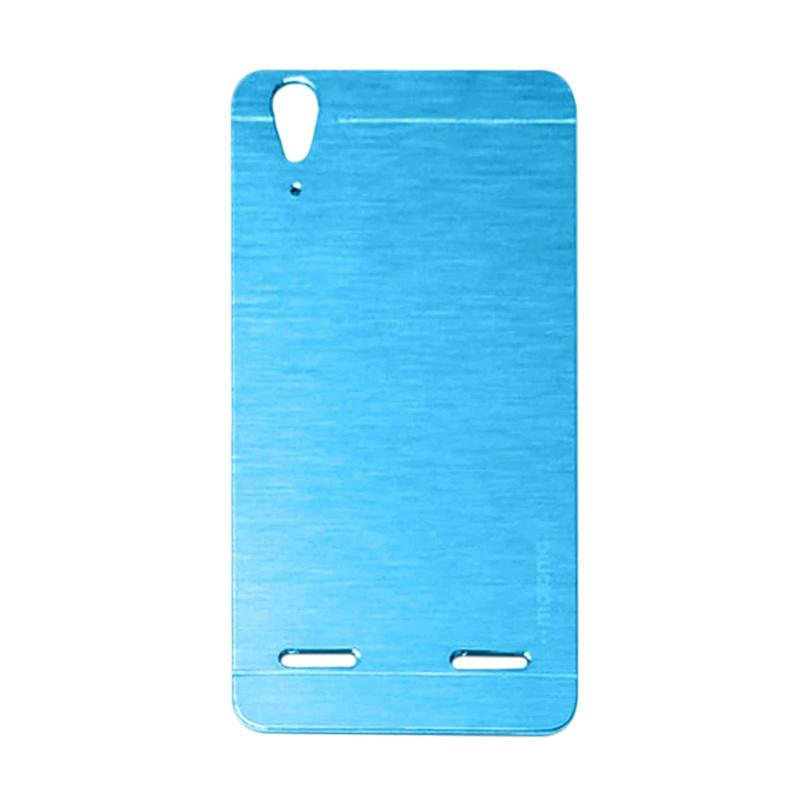 Motomo Metal Hardcase Backcase Casing for Lenovo A6010 or A6010 Plus - Sky Blue