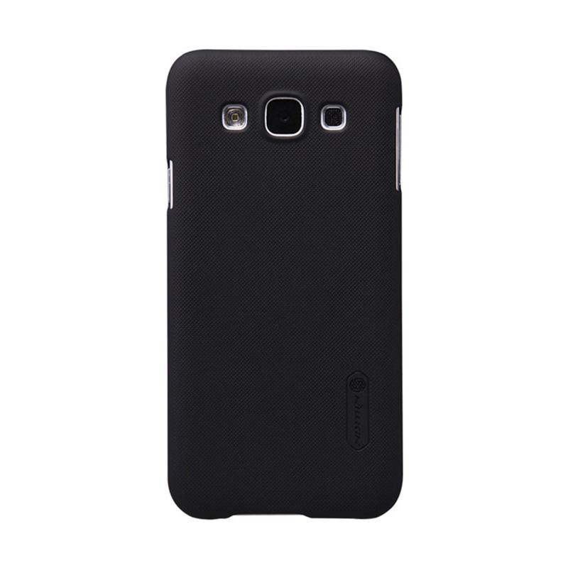 Nillkin Original Super Shield Hardcase Casing for Samsung Galaxy E5 - Black [1 mm]