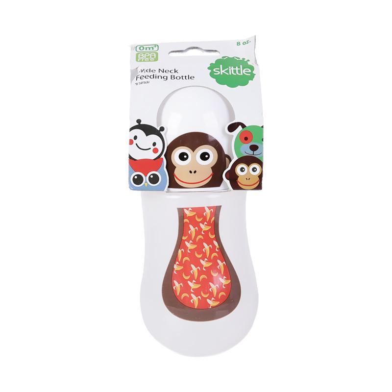 Chloe Babyshop Skittle Monkey S195 Botol Susu - Brown [8 oz/240 mL]