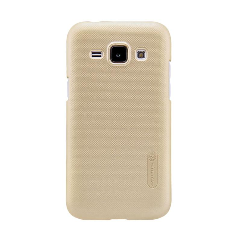 Nillkin Original Super Shield Hardcase Casing for Samsung Galaxy J1 - Gold [1 mm]