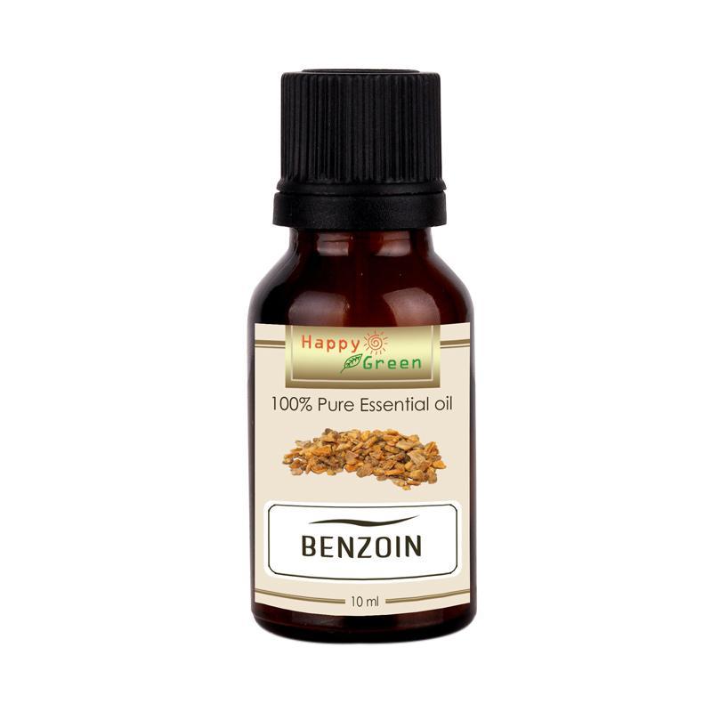 Happy Green Styrax Benzoin Essential Oil Minyak Kemenyan [10 mL]