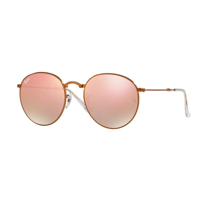 Ray-Ban Sunglasses RB3532 Copper Flash Gradient Kacamata - Shiny Bronze [198/7Y/Size 53]