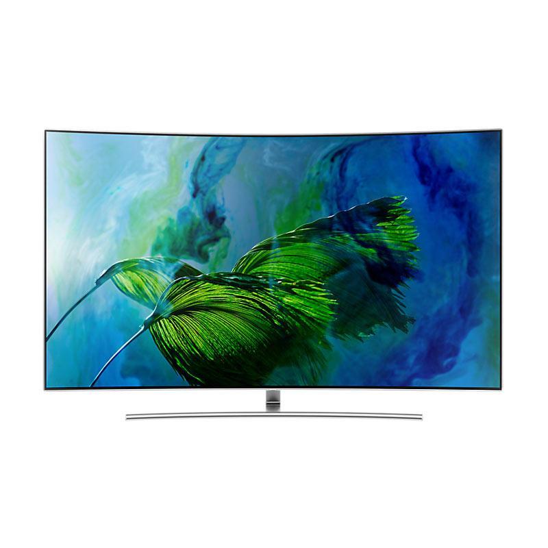 Samsung QA55Q8CAMKPXD UHD Smart TV - Hitam [55 Inch/ QLED TV/ Khusus Jadetabek]