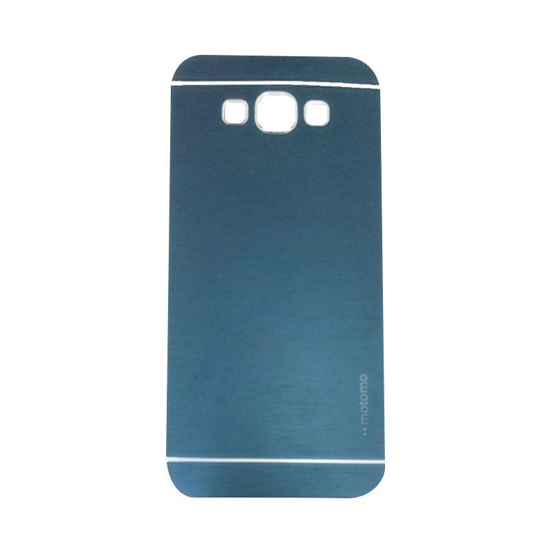 Motomo Metal Hardcase Backcase Casing for Samsung Galaxy J5 J500F - Dark Blue