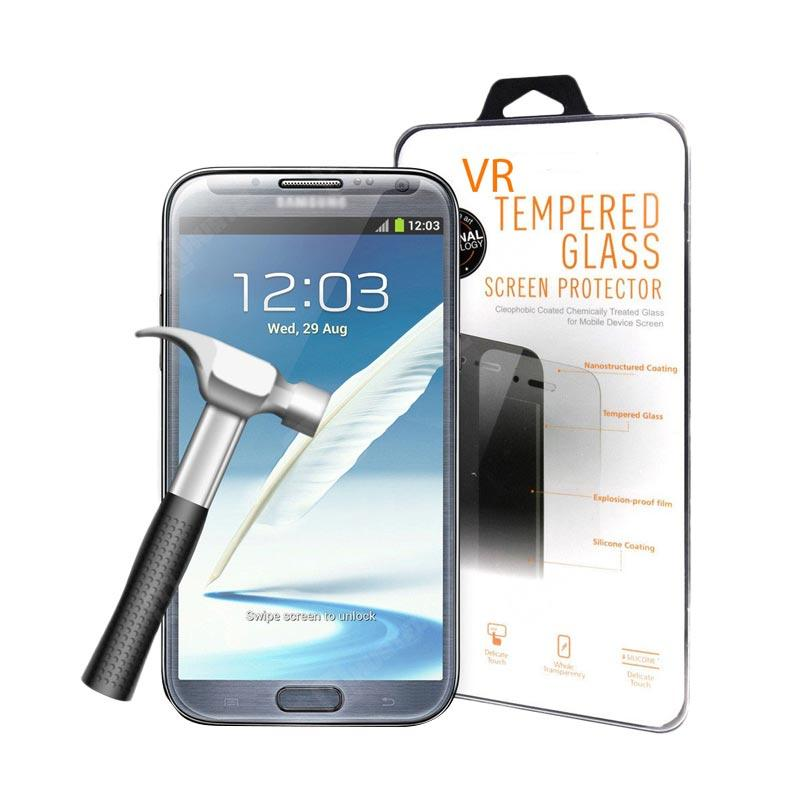 VR Tempered Glass Screen Protector for Oppo F3 Plus Anti Gores Kaca - Clear