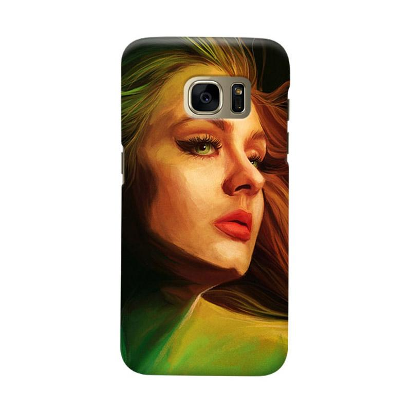 Indocustomcase Adele Cover Casing for Samsung Galaxy S6