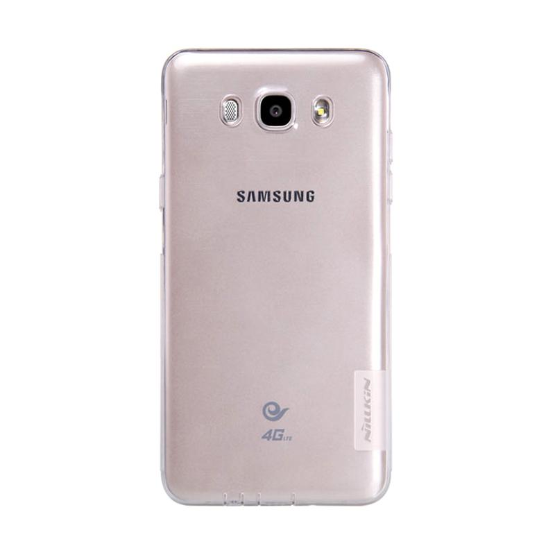 Nillkin Nature Ultrathin Original Casing for Samsung Galaxy J7 2016 - Clear [0.6 mm]