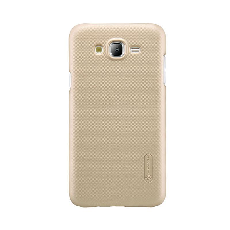 Nillkin Original Super Shield Hardcase Casing for Samsung Galaxy J5 - Gold [1 mm]