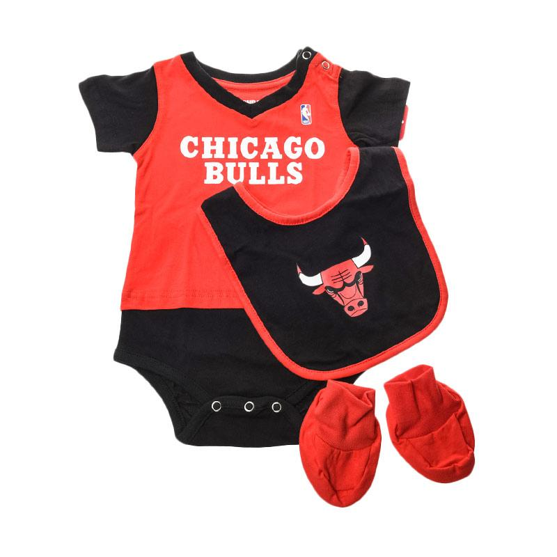 NBA Outerstuff 22OIM Chicago Bulls Jumpsuit Anak