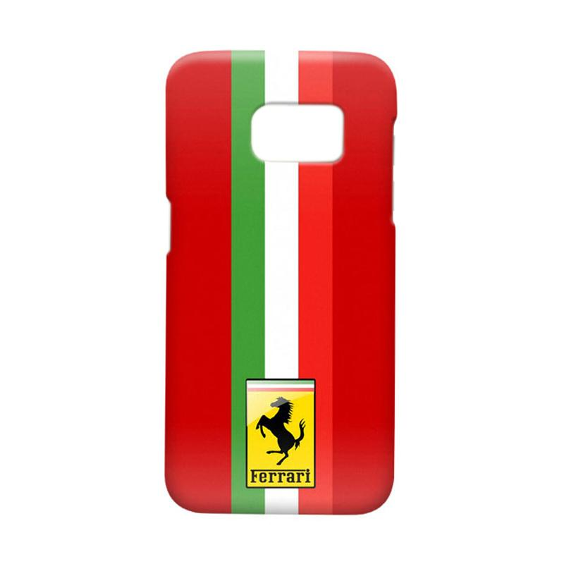 Indocustomcase Ferarri Cover Casing for Samsung Galaxy S7