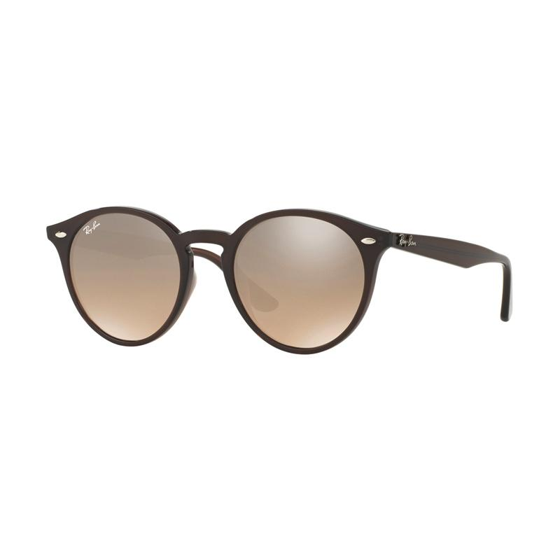 Ray-Ban RB2180F 62313D - Brown [Size 49/Opal Brown Frame /Camel Gradient Mirror Lens]