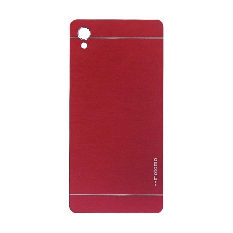 Motomo Metal Hardcase Backcase Casing for Sony Xperia Z5 or Z5 Dual - Red