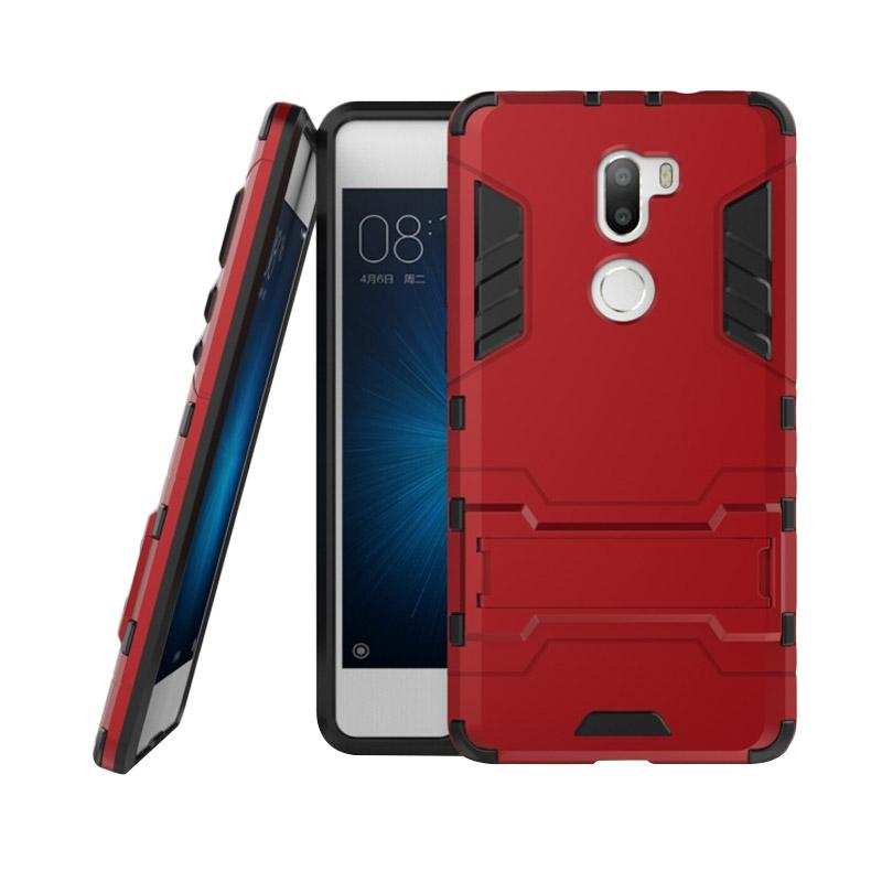 OEM Transformer Robot Iron Man Casing for Xiaomi 5S/Mi5S/Mi 5S Plus - Merah
