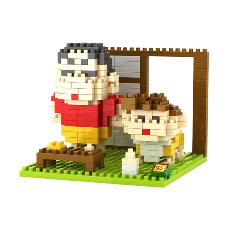 Loz Diamond Block Shinchan Himawari 9464 Mainan Block dan Puzzle