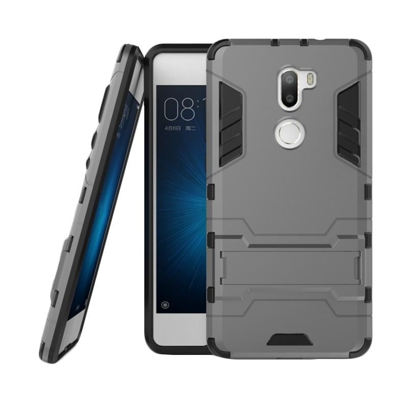 OEM Transformer Robot Iron Man Casing for Xiaomi 5S/Mi5S/Mi 5S Plus - Grey