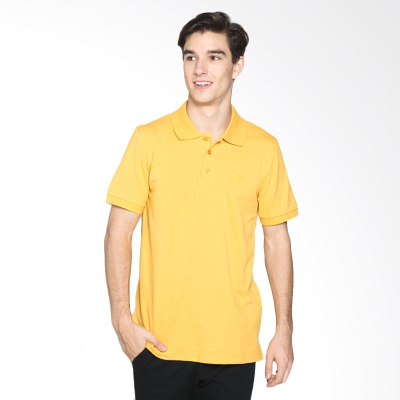 Country Fiesta PPLXS20945 Mens Polo Polo Lacoste Mustard