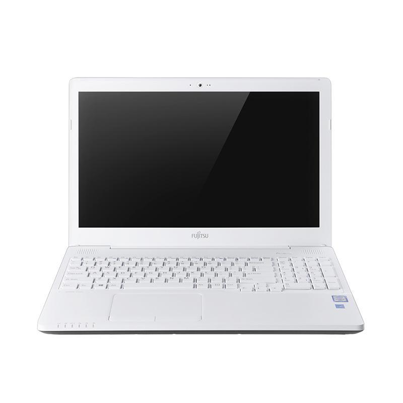 Fujitsu Lifebook AH556 013 Notebook - Putih [15.6 Inch/i5-6200U/4 GB/500 GB/AMD Radeon R7/Win 10]