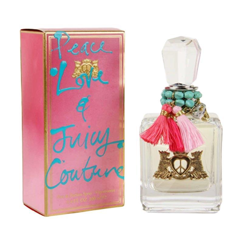 Juicy Couture Peace Love and Juicy Couture Eau de Parfum Wanita [100 mL]
