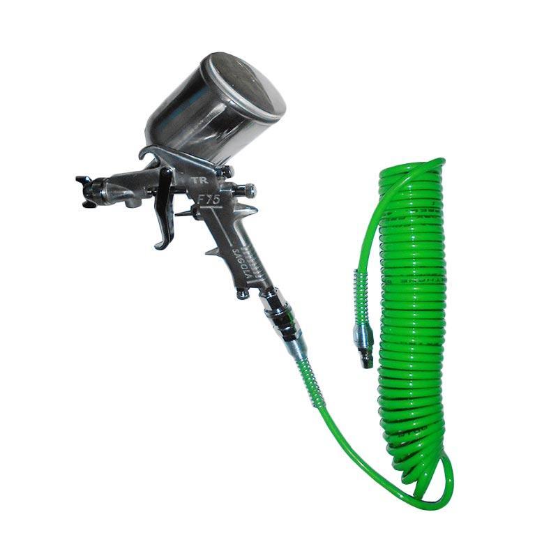 harga Universal Sagola F-75G Spray Gun + Tekiro Selang Recoil Hose [6 Meter] Blibli.com