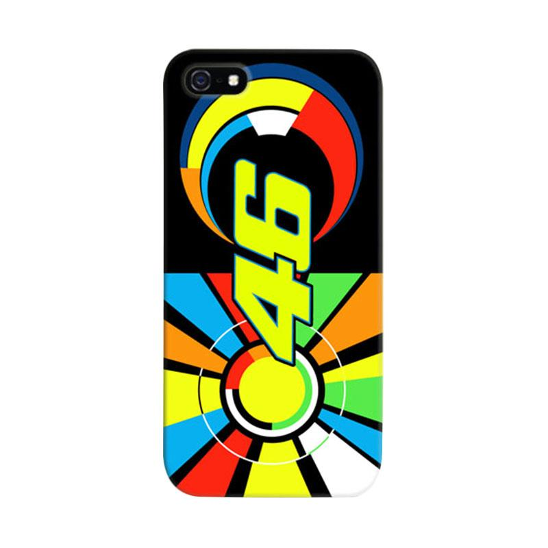 Indocustomcase Valentino Rossi The Doctor VR46 02 Casing for iPhone 5/5S/SE