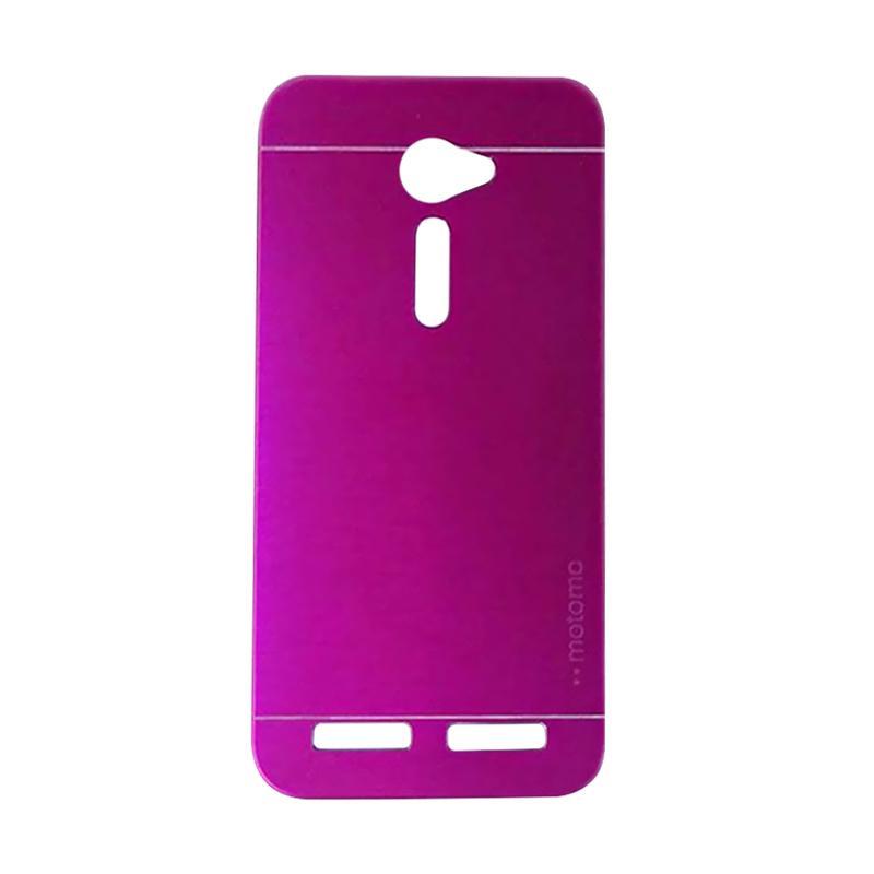 Motomo Metal Hardcase Backcase Casing for Asus Zenfone 2 ZE500CL 5.0 Inch - Pink