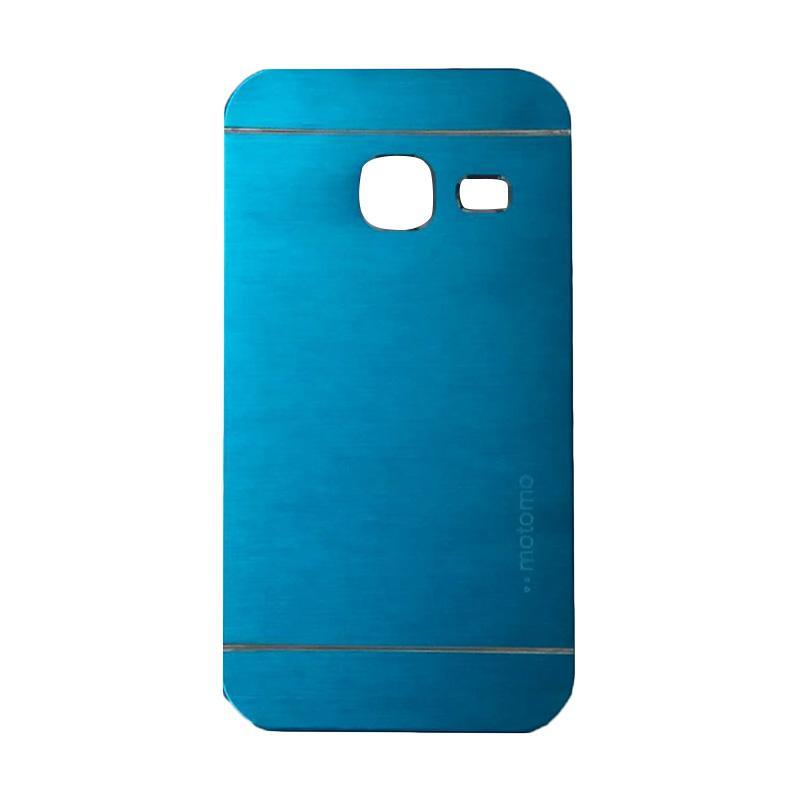 Motomo Metal Hardcase Casing for Samsung Galaxy J1 Mini or J103 - Sky Blue
