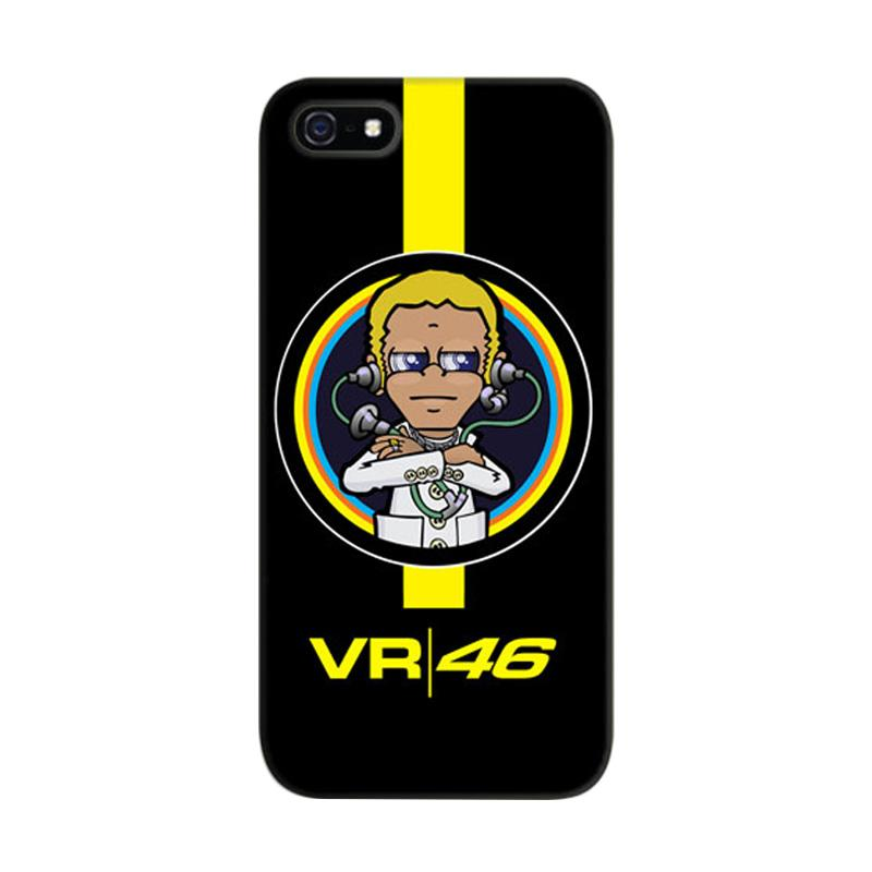 Indocustomcase Valentino Rossi The Doctor VR46 03 Cover Casing for iPhone 5/5S/SE