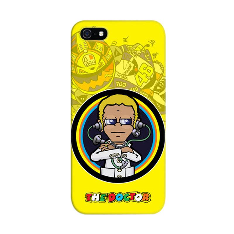 Indocustomcase Valentino Rossi The Doctor VR46 04 Cover Casing for iPhone 5/5S/SE