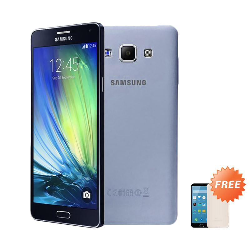 Ultrathin Casing for Samsung Galaxy A7 2016 SM-A710F - Blue Clear + Free Ultra thin