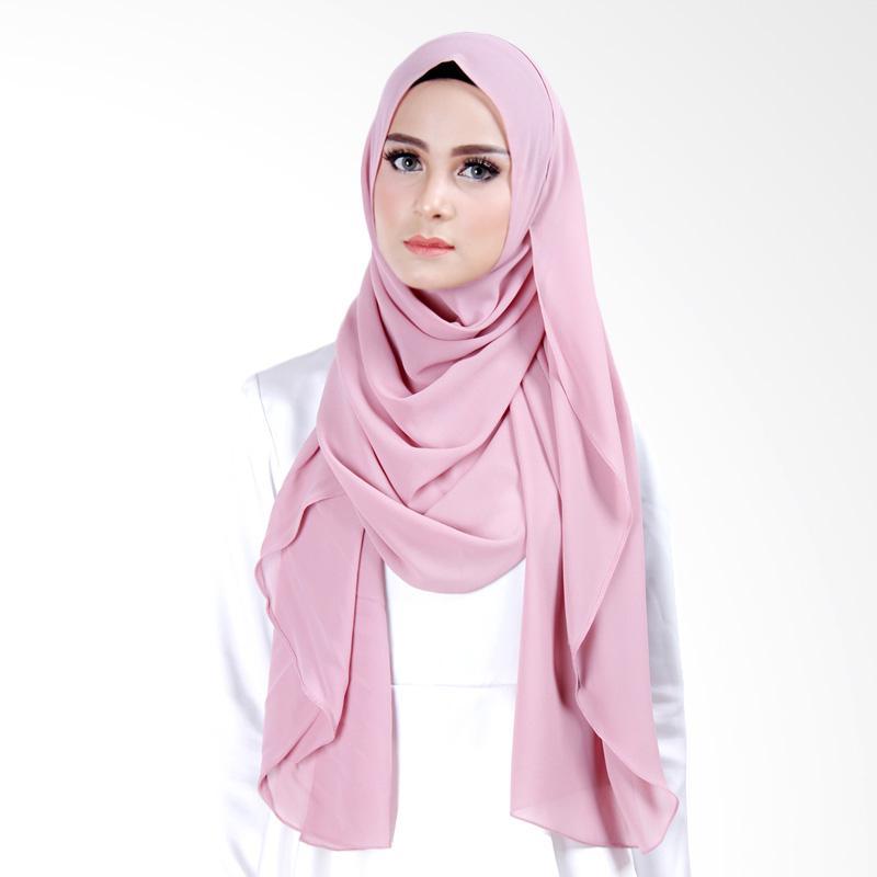 Cantik Kerudung Scarlett Slip In Instant  - Purplish Pink