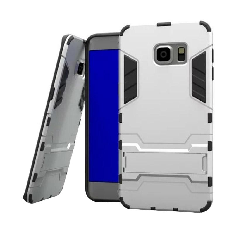 OEM Case Samsung Galaxy S6 edge Transformer Robot Casing Iron Man - Silver