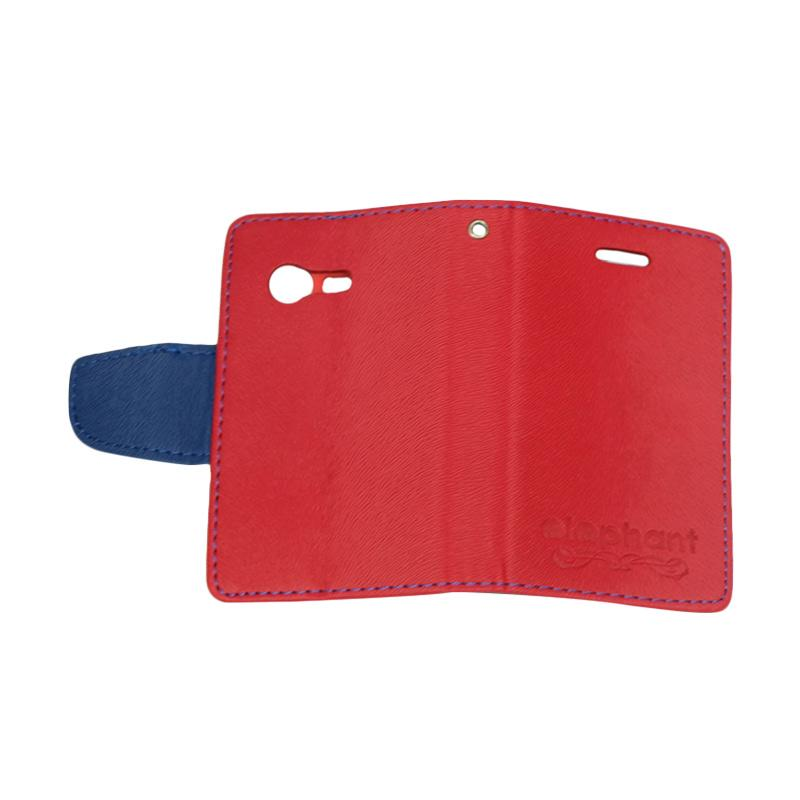 Elephant Flipcover Casing for Samsung Galaxy Pocket Neo s5310 or s5312 - Red