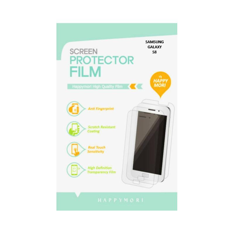 Happymori HD Clear Full Screen Protector for Samsung Galaxy S8