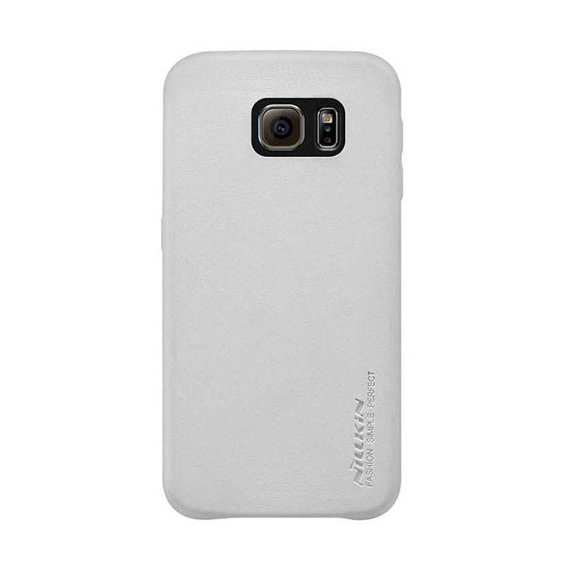 Nillkin Victoria Leather Series Casing for Samsung Galaxy S6 - White