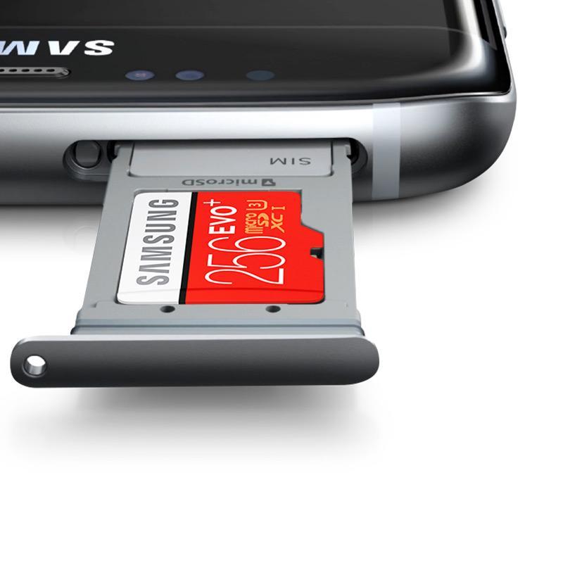 Jual Samsung EvoPlus MicroSDXC Memory Card with Adapter - Merah [256GB/ 95MB/s] Online - Harga & Kualitas Terjamin | Blibli.com