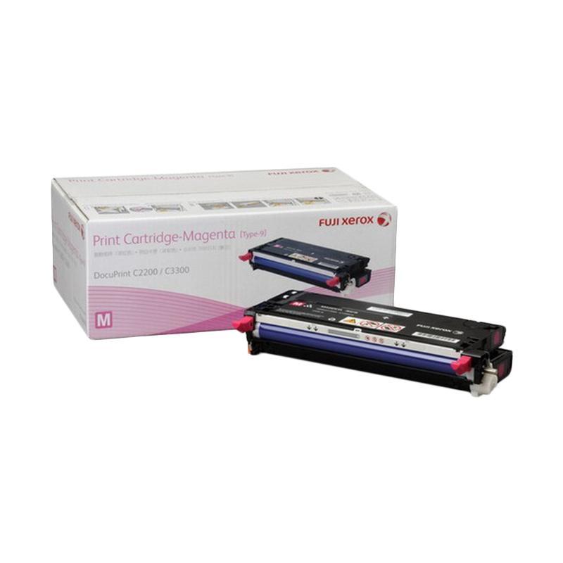Fuji Xerox CT350672 Toner untuk Printer Docuprint C2200 or C3300DX - Magenta