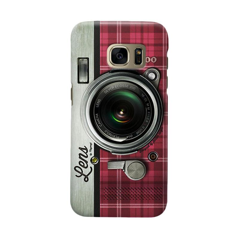 Indocustomcase Camera RS Cover Casing for Samsung Galaxy S7