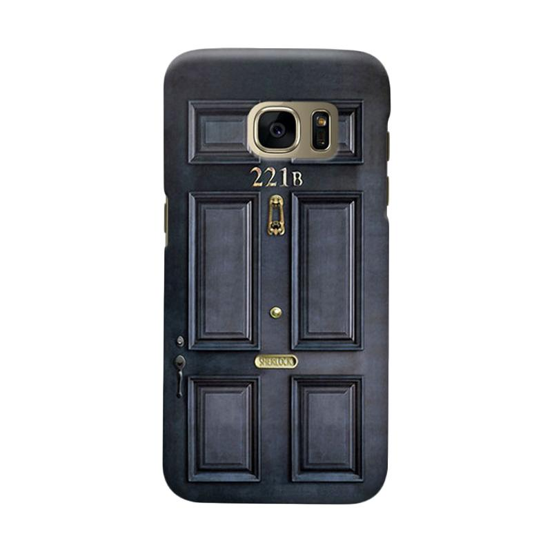 Indocustomcase Door Cover Casing for Samsung Galaxy S6