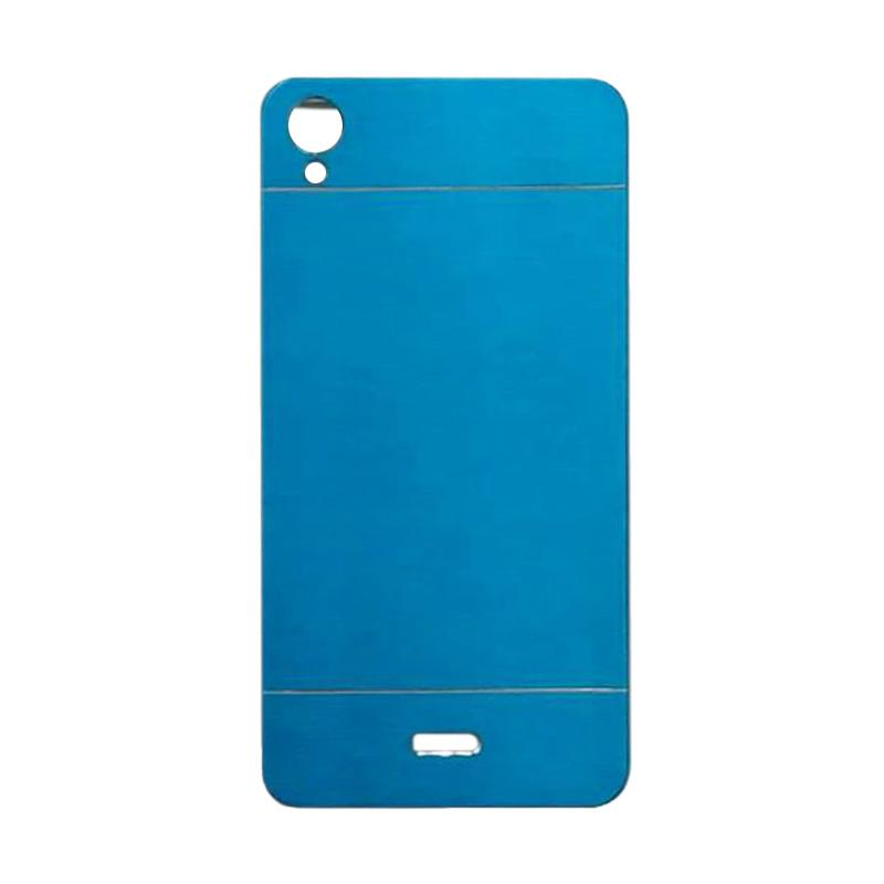 Motomo Metal Hardcase Backcase Casing for Infinix Hot Note X551 - Sky Blue