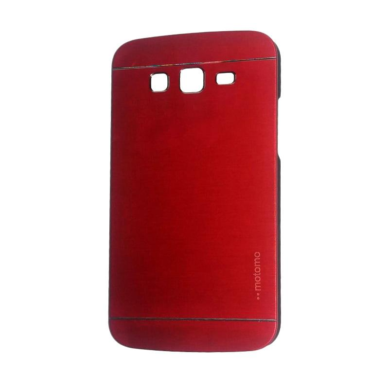Motomo Metal Hardcase Backcase Casing for Samsung Galaxy Grand 2 or G7106 - Red
