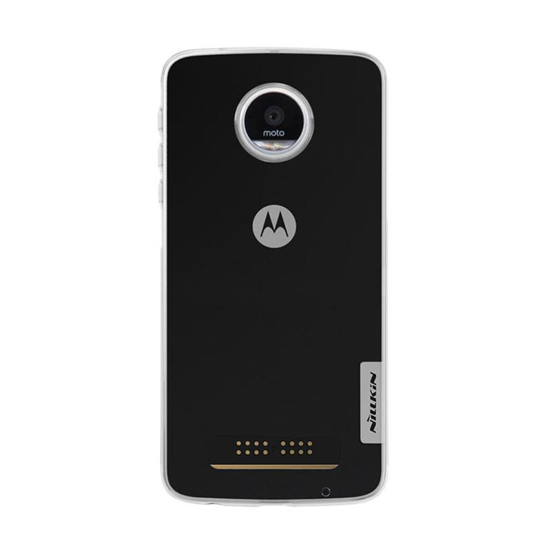 Nillkin Original Nature Ultrathin Casing for Moto Z Play - Clear [0.6mm]