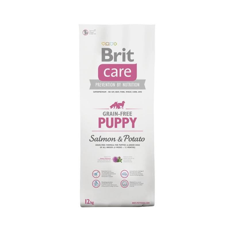 Brit Care Grain-Free Puppy Salmon & Potato Superpremium Dog Food [12 kg]