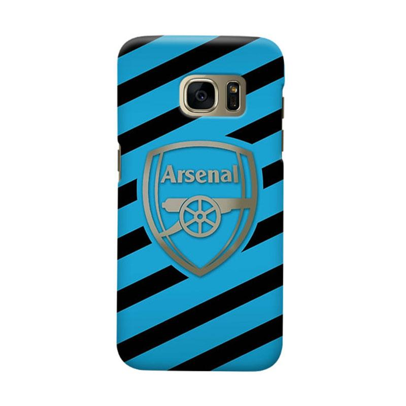 Indocustomcase Arsenal FC AFC06 Casing for Samsung Galaxy S6 Edge