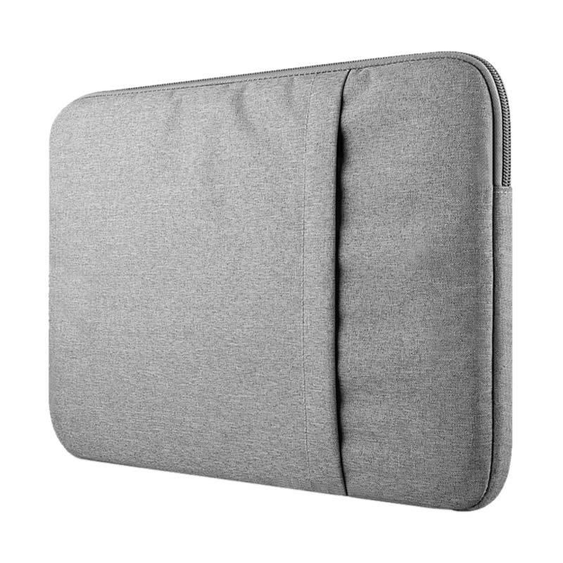 Cooltech Softcase Macbook Sleeve Case Nylon Tas Laptop - Grey [14 Inch]