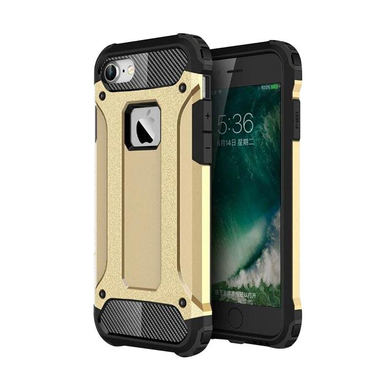 OEM Transformers Iron Robot Hardcase Casing for iPhone 6S Plus 5.5 Inch - Gold