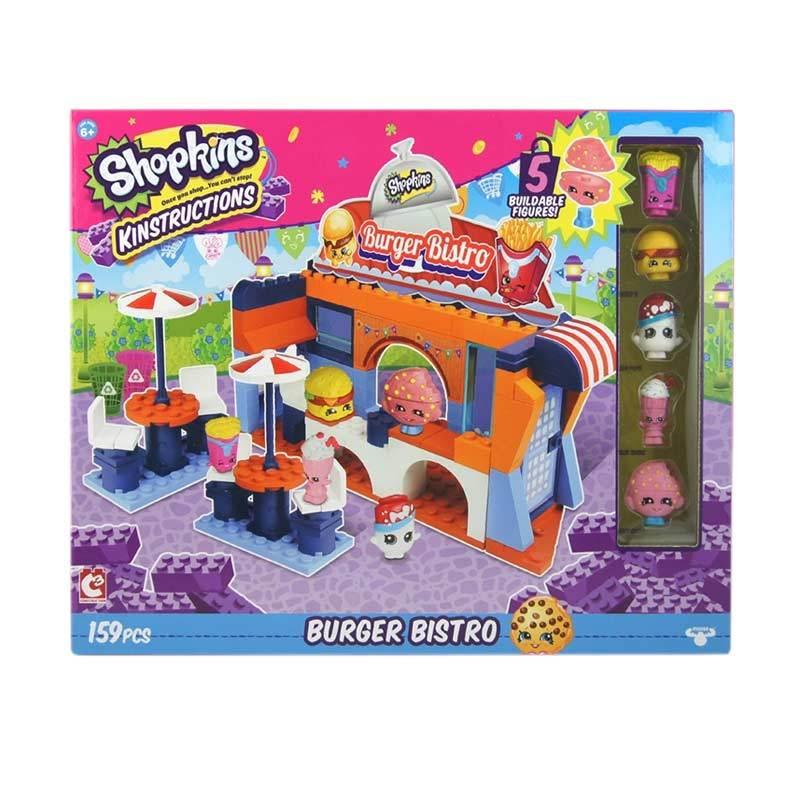 Shopkins Kinstructions Burger Bistro Blocks & Stacking Toys