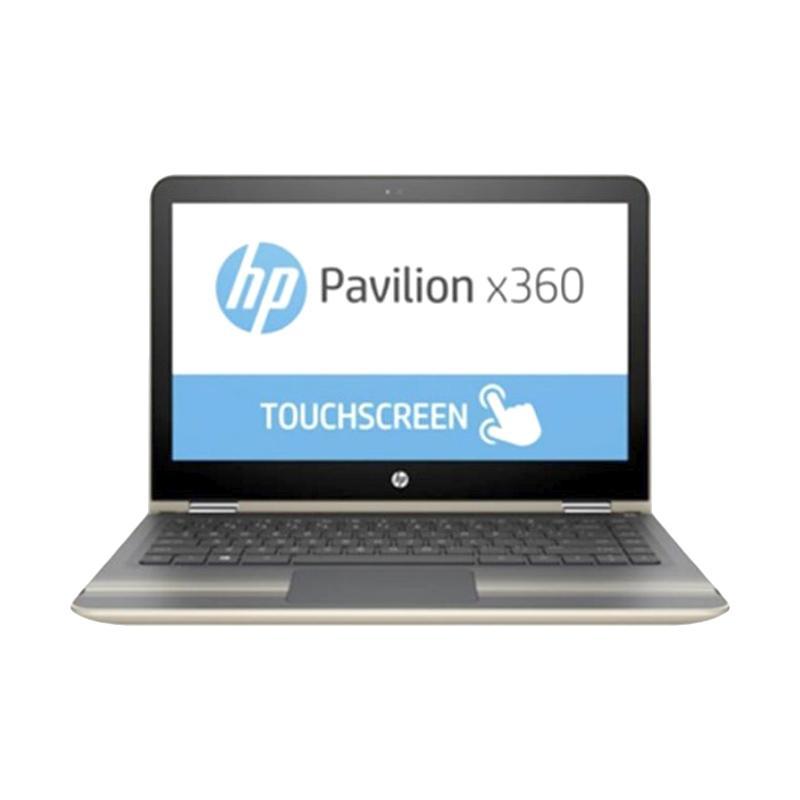 HP Pavilion X360 Convert 13-U171TU Notebook - Gold [Ci3-7100U/ 4GB/ Intel HD/ 13.3 inch Touch/ Win 10]