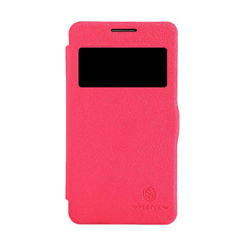 Nillkin Fresh Flip Cover Original Casing for Samsung Galaxy Core 2 - Red