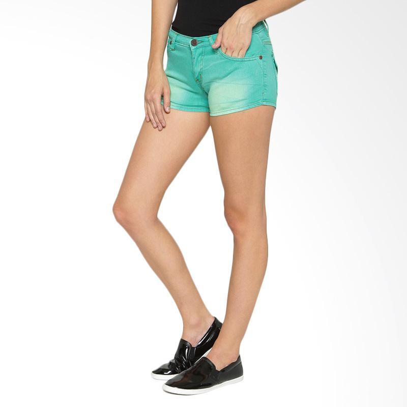 harga DJ 20 Bio Sunny Hot Pants Celana Wanita - Green Blibli.com